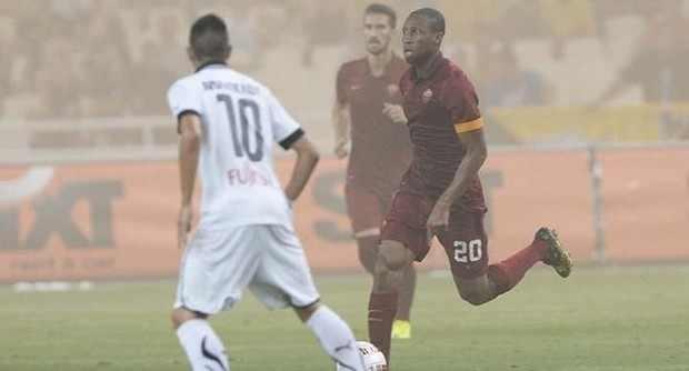 La Roma vince 2-1 l'ultimo test a Atene. Reti di Iturbe e Keita, per i greci D'Acol