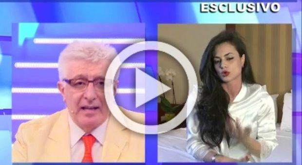 """Cristina Del Basso, lite in diretta tv con Lemme: """"No alla dieta in gravidanza"""""""